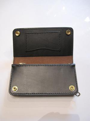 【HONEY WORKS】NEW Studs Leather Wallet 2