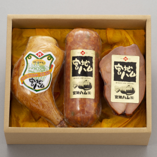 ありたどり骨付きチキンレッグ&リオナソーセージ&焼豚