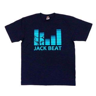 Tシャツ JACK BEAT【ネイビー】