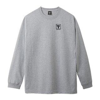 ロングスリーブTシャツ【グレー】