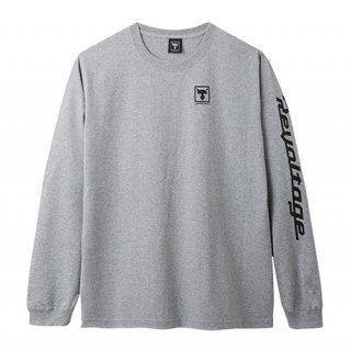リボルテージロングスリーブTシャツ【グレー】