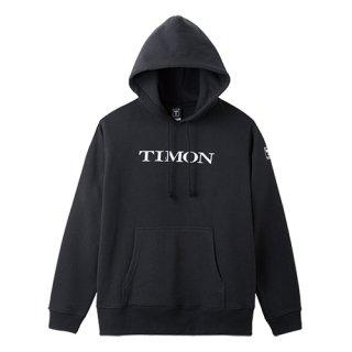 TIMONプルオーバーフーディ【ブラック】