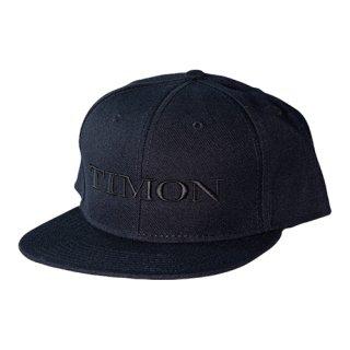 TIMON フラットキャップ【ブラック】