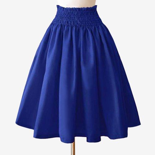 ブルー シャンタン パウスカート