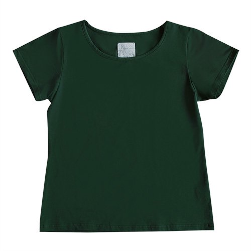【Sサイズ】半袖 グリーン フラTシャツ 無地
