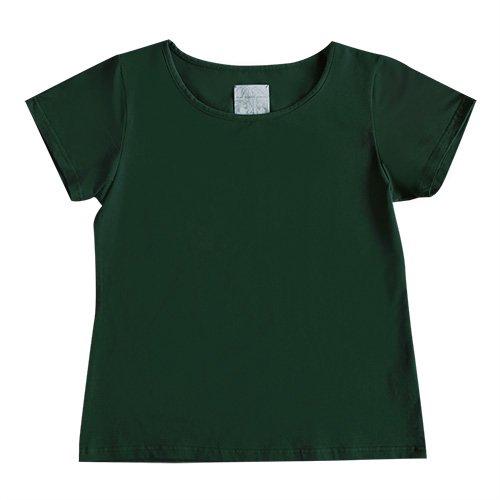 【Lサイズ】半袖 グリーン フラTシャツ 無地