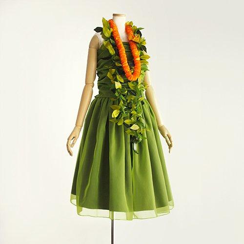 【雄々しき自然のモデルスイート  草木】黄緑色 スリークォーター