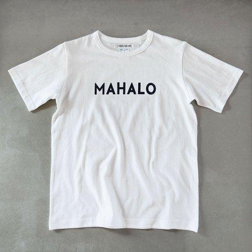 T-shirt  mahalo black/white