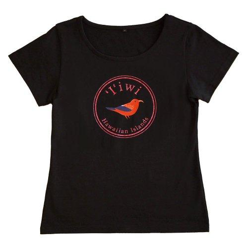 <img class='new_mark_img1' src='https://img.shop-pro.jp/img/new/icons6.gif' style='border:none;display:inline;margin:0px;padding:0px;width:auto;' />【3Lサイズ】半袖 黒色 フラTシャツ イイヴィ柄