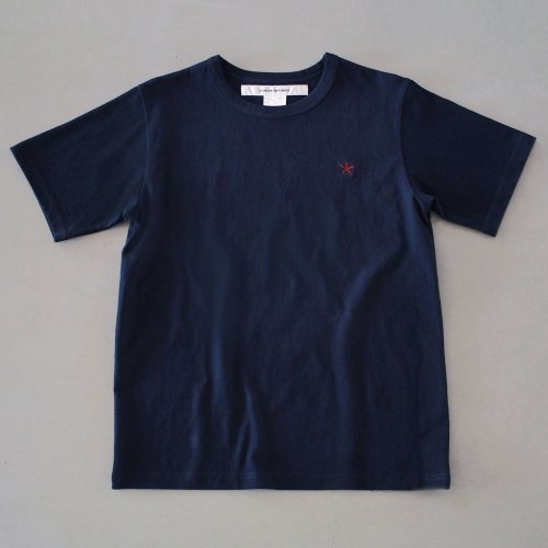 "T-shirt 7.8oz navy ""hitode"""