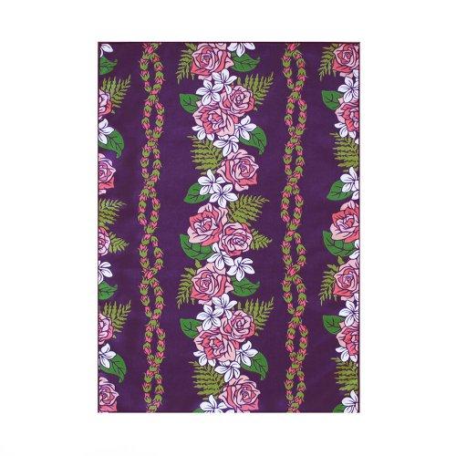 シンプルな袋 紫色 ロケラニ柄