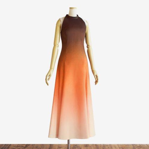 【キャンペーンドレス】グラデーション フラドレス38【ブルーヘヴンリザーヴ】