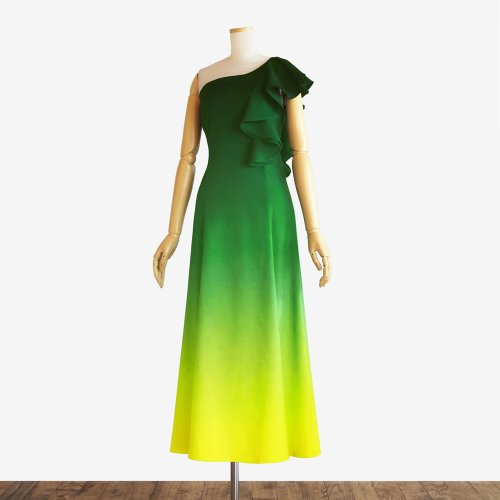 【キャンペーンドレス】グラデーション フラドレス35【ブルーヘヴンリザーヴ】