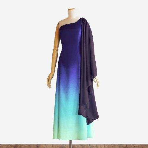 【キャンペーンドレス】グラデーション フラドレス110【ブルーヘヴンリザーヴ】