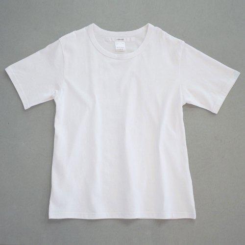 【CORTADO】T-shirt 7.8oz solid white