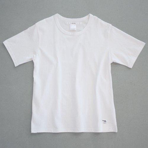 "【CORTADO】T-shirt 7.8oz white ""departure"""