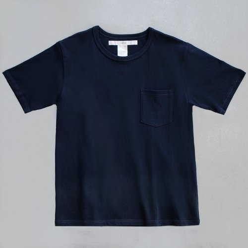 <img class='new_mark_img1' src='https://img.shop-pro.jp/img/new/icons6.gif' style='border:none;display:inline;margin:0px;padding:0px;width:auto;' />【CORTADO】T-shirt 7.8oz solid navy with pocket