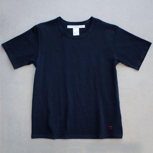"""【CORTADO】T-shirt 7.8oz navy """"departure"""""""