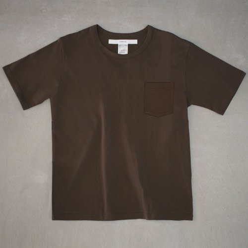 <img class='new_mark_img1' src='https://img.shop-pro.jp/img/new/icons6.gif' style='border:none;display:inline;margin:0px;padding:0px;width:auto;' />【CORTADO】T-shirt 7.8oz solid brown with pocket