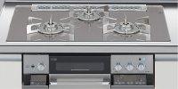 リンナイ製(LIXIL)R3736D1W7T 3口コンロ・ガラストップ・スタイリッシュタイプ ●ガスコンロ