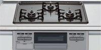 リンナイ製(LIXIL)R1633A0WHVJ 3口コンロ・ホーロートップタイプ ●ガスコンロ