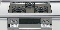 ハーマン製(LIXIL)H3635E1W2T 3口コンロ・ガラストップタイプ ●ガスコンロ