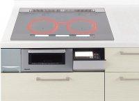 パナソニック製(Panasonic)VJSXP77SK 3口IHスクエアデザインプレート ▽IHクッキングヒーター