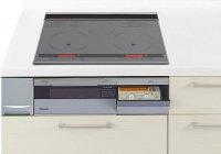 パナソニック製(Panasonic)QSSLX6SK 3口IH 鉄・ステンレス対応 ▽IHクッキングヒーター