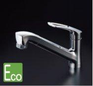 クリナップ ZZK87120EJCL-E 省エネシングル水栓(シャワーホースタイプ) ◎キッチン水栓 一般地用
