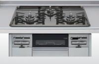 クリナップ ZGGVK6R16VSE-E 3口コンロ・ホーロートップタイプ ●ガスコンロ