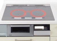 パナソニック製(Panasonic)LESXP36SK 3口IH 鉄・ステンレス対応 ▽IHクッキングヒーター