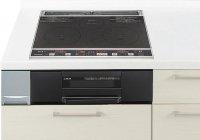 パナソニック製(Panasonic)LEEG32AE 2口IH+ラジエント 鉄・ステンレス対応 ▽IHクッキングヒーター