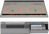 パナソニック製(永大産業)JS-CH-VRS6V 3口IH・ダブルオールメタル ▽IHクッキングヒーター
