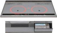 パナソニック製(永大産業)JS-CH-TRS7V 3口IH 鉄・ステンレス対応 ▽IHクッキングヒーター