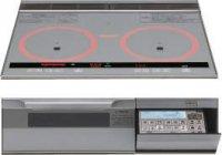 パナソニック製(永大産業)JS-CH-TRS6V 3口IH 鉄・ステンレス対応 ▽IHクッキングヒーター