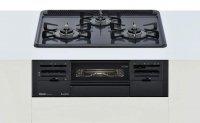 リンナイ製(Rinnai)RS31W21H2R-BW Metal(メタルトップシリーズ)メタルトップ ダークグレー ●ガスコンロ