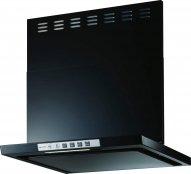 富士工業製(Rinnai)LGR-3R-AP751BK 間口75cm ブラック LGRシリーズ クリーンフード ★レンジフード 上幕板付き ※納期約2週間