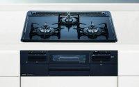 ノーリツ製(NORITZ)N3WQ5RWTQ1 メタルトップシリーズ 3口コンロ ●ガスコンロ