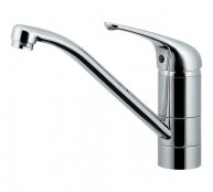 カクダイ製(KAKUDAI)117-105 シングルレバー混合栓(キッチン1穴) ◎キッチン水栓 一般地用