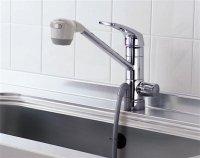 TOTO製(TOTO)TKG38BS 浄水器兼用混合水栓(ビルトイン形) ▼浄水器