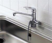 TOTO製(TOTO)TKG38-1S 浄水器兼用混合水栓(ビルトイン形) ▼浄水器