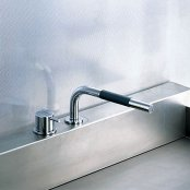 VOLA製(CERA)VL500T1-16 クロム VOLAシリーズ 湯水混合栓 キッチン用セット ◎キッチン水栓