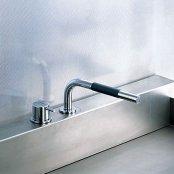 VOLA製(CERA)VL500T1-40 ステンレス VOLAシリーズ 湯水混合栓 キッチン用セット ◎キッチン水栓