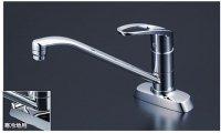 KVK製(KVK)KM5081TV8 吐水口回転規制 流し台用シングルレバー式混合栓 ◎キッチン水栓 一般地用