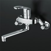 KVK製(KVK)KM5000TR2 240mmパイプ付 シングルレバー式混合栓 ◎キッチン水栓 一般地用