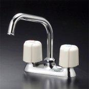 KVK製(KVK)KM17NE 流し台用2ハンドル混合栓 ◎キッチン水栓 一般地用
