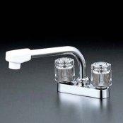 KVK製(KVK)KM17G 流し台用2ハンドル混合栓 ◎キッチン水栓 一般地用