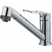 三栄水栓製(SANEI)K8711MEJV-S-13 シングルワンホール切替シャワー混合栓 ◎キッチン水栓 一般地用