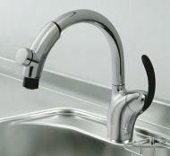 TOTO製(NORITZ)TKN34PBTSV1 タッチ式グースネック水栓 一般地用 ◎キッチン水栓