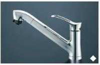 三栄水栓製(Housetec) K87120EJ-HTA シングルレバーシャワー水栓(ホース付き・エコ) ◎キッチン水栓 一般地用